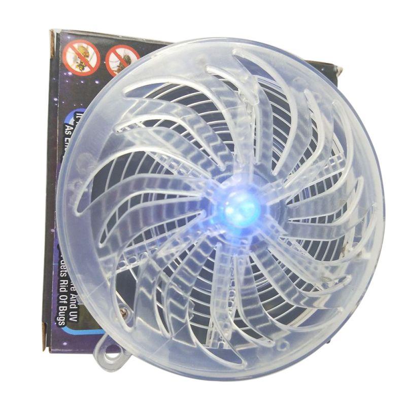 Estate Solar Powered Mosquito Killer Lampade Buzz UV Della Luce Della Lampada Camera Da Letto Insetto Mosca Bug Mosquito Uccidere Zapper Killer Indoor outdoor
