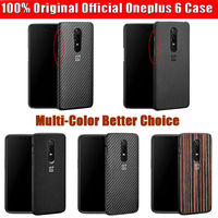Oneplus 6 Case 100 Original Official Sandstone Nylon Silicon 1 6 One Plus 6 Case Wood