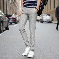 2017 Summer Fashion Thin New Men S Casual Leisure Cotton Linen Male Long Pants Men High
