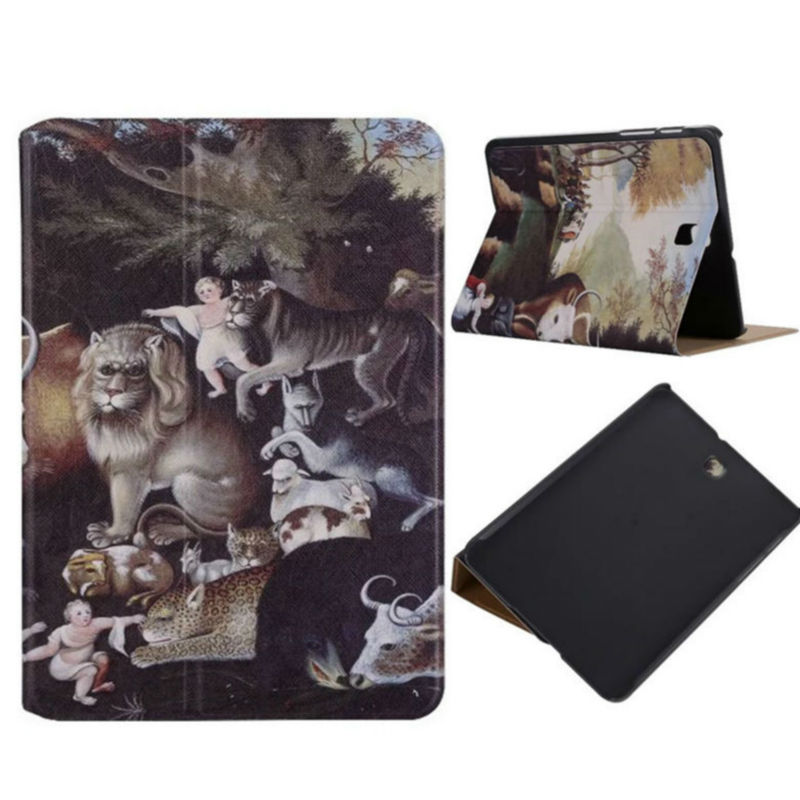 Tab S2 T715 Flip PU Leather Case Shockproof Colorful Print Stand Cases Smart Cover For Samsung Galaxy Tab S2 8.0 T715 Anti-dust new listing luxury tablet shockproof case cover for samsung galaxy tab s2 8 0 t710 t713 t715 t719 child fashion back cases
