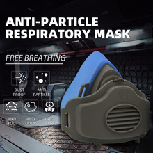 Anti Dust Respirator Filter Gas Mask Set Chemical Anti-dust Masks Industrial Dust Smog Paint Spraying Protective Mask все цены