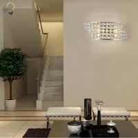 Light luxury modern minimalist LED wall lamp bedside indoor crystal lamp Aisle lamp bedroom corridor lamp