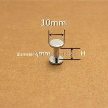 h = 12 мм хромированный кошелек сумка винт латунь ремень винт заклепки DIY ручной работы крепежа garmnet оборудования кожа часть