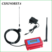 Мобильный телефон GSM репитер 900 МГц Мини ЖК дисплей GSM900 усилитель сотового сигнала 2G Усилитель сотового телефона оптовая продажа