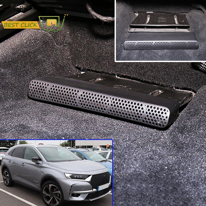 For PSA DS7 DS 7 Crossback 2017 2018 Under Seat Chair Below Footwell AC Heater Air Vent Conditioner Outlet Molding Vent Cover