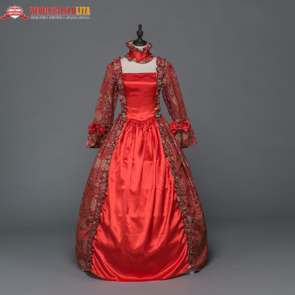 Gothic Period Medieval Dresses Ball Gown Queen Ball Gown Women Witch ...