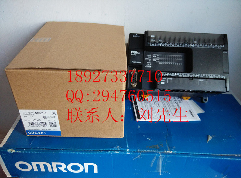 [ZOB] 100% new original OMRON Omron programmable controller relay CP1E-N40SDT-D new original programmable controller plc module 8point npn input 8point relay output xc2 16r e xc2 16r c dc24v 2com