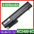 4400 mah batería del ordenador portátil para hp 411126-001 412779-001 441675-001 hstnn-db22 hstnn-fb21 hstnn-xb21 hstnn-xb22 rw556aa
