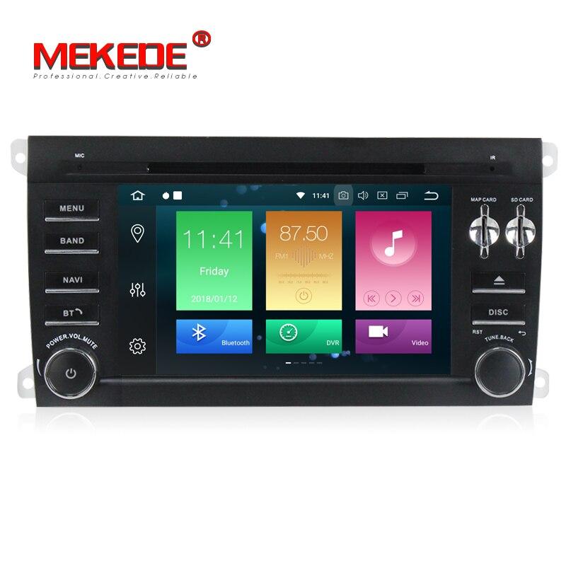 Reprodutor multimídia carro PX5 Android 8.0 Unidade de Cabeça Autoradio Jogador GPS Do Carro para Porsche Cayenne 2003-2010 BT WIFI 4g RAM 32g ROM