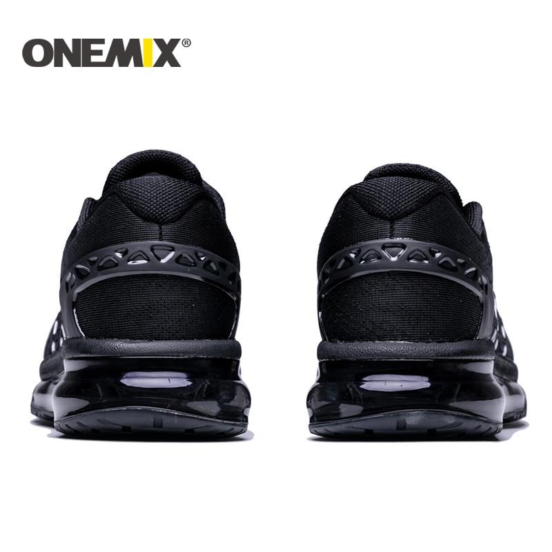 Onemix 2017 nuevos hombres zapatos para correr diseño único - Zapatillas - foto 5