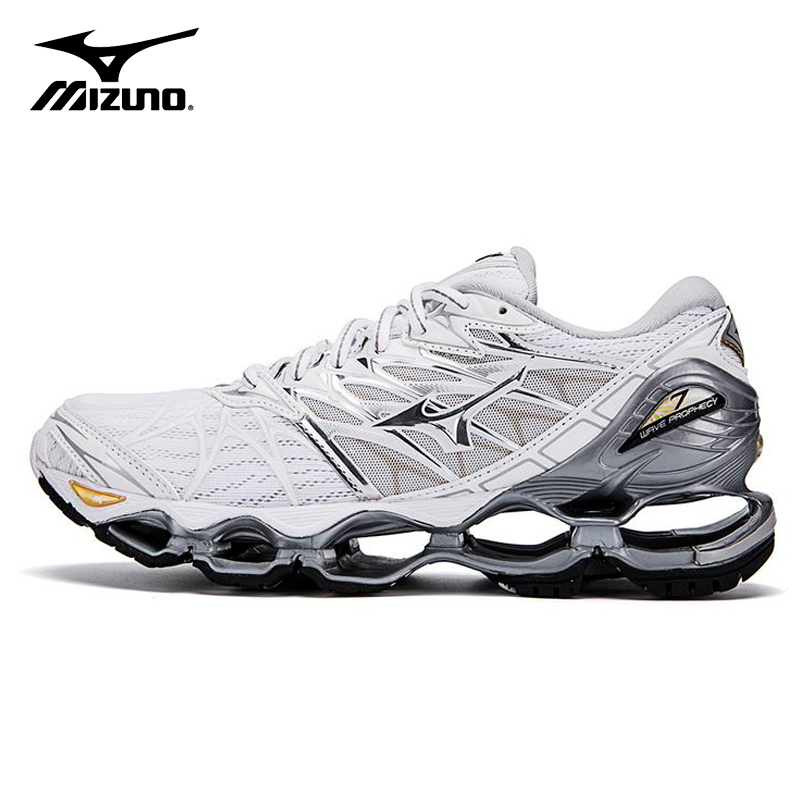 promo code 1fe54 2bf82 MIZUNO WAVE Prophecy 7 professional Men Shoes Outdoor Air Cushioning Sport  sneakers tenis mizuno homens Weightlifting