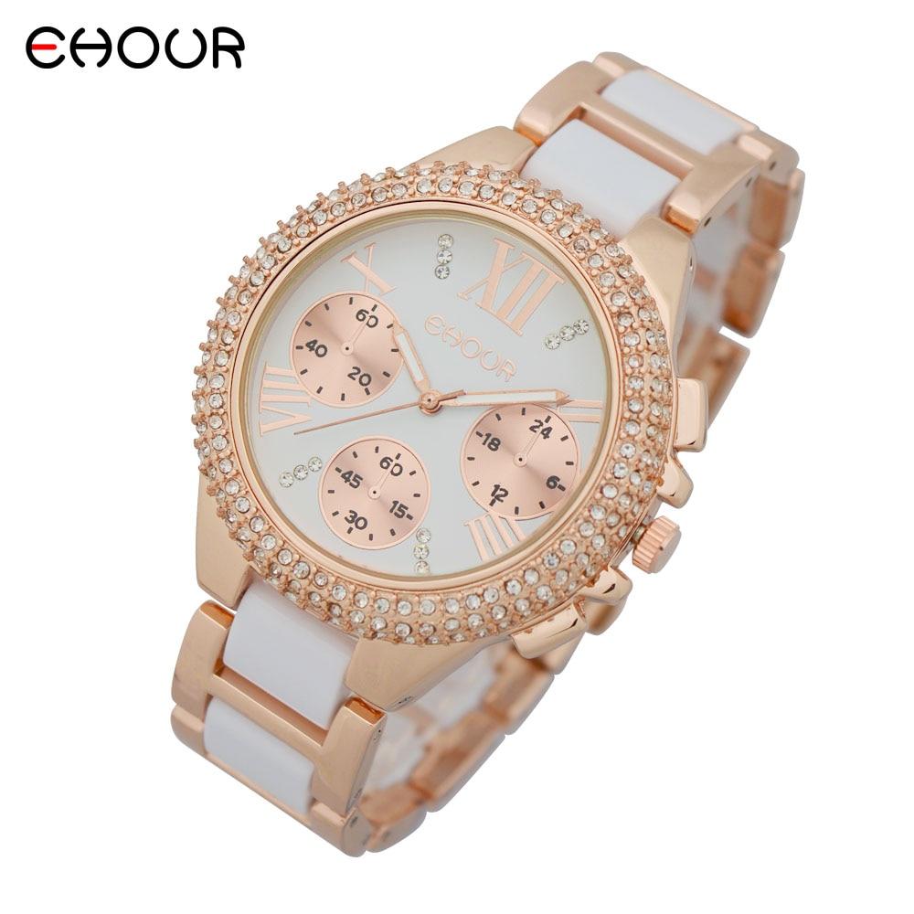 Nuevo 2015 Fashion Geneva Golden Metal Reloj de pulsera de cuarzo - Relojes para hombres - foto 6