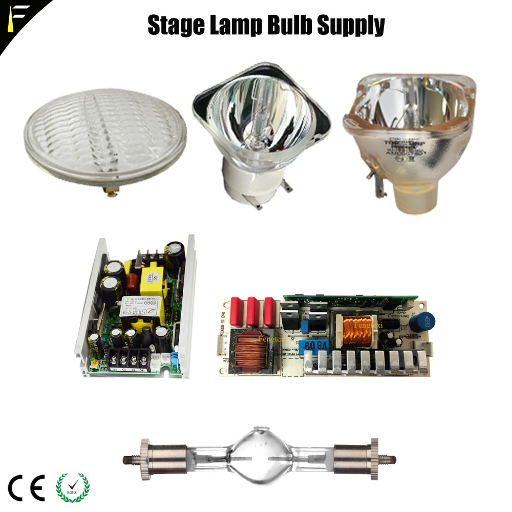 DWE 650W 2R 5R 7R 15R 17R 20R Lamp Discharge Bulb 132W200W230W330W440W Lamp Power Board Supply/Ballast Stage Parts Dmx Replacing