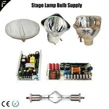Dwe 650 w 2r 5r 7r 15r 17r 20r lâmpada de descarga 132w200w230w330w440w lâmpada placa alimentação/lastro peças palco dmx substituição