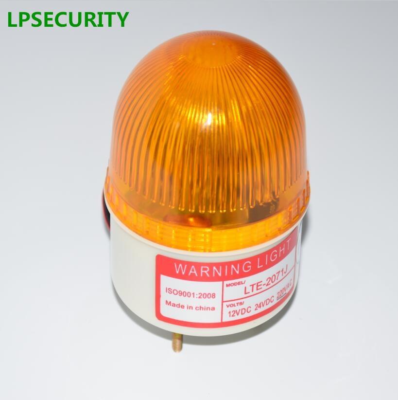 LPSECURITY Waterproof Gate Opener Motor Mini Alarm