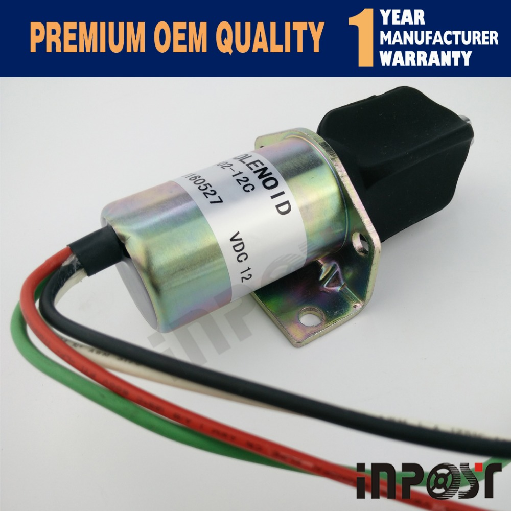 Exhaust Solenoid 10138PRL, 1502-12C For Corsa Electric Captain's Call Systems 1502 12a6u1b1 for solenoid 1500 2004 12v 1502