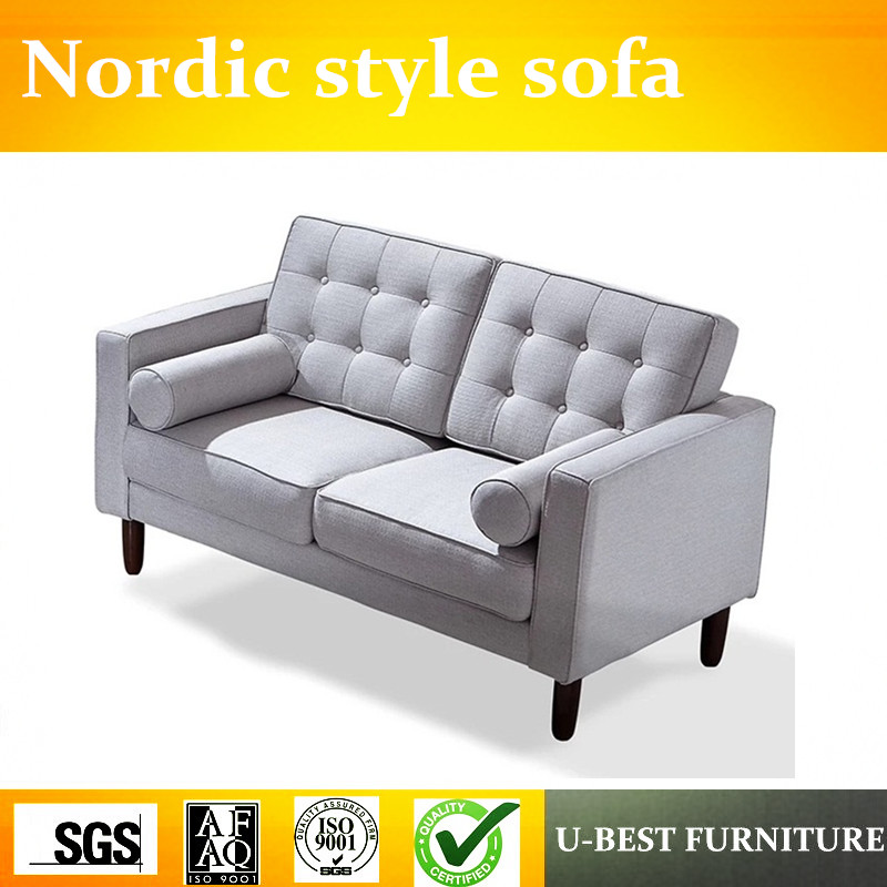 U-BEST Factory direct modern Nordic hotel Living Room Furniture Fabric Sofa sets