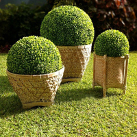 50cm diameter Free shipping artificial plastic boxwood ball grass ball indoor & outdoor decoration