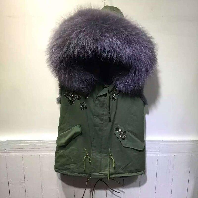 Grey inside short waistcoat green women coat Snake Beads Vest Jacket