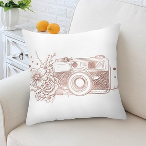 Image 3 - Home Decortion Rose Gold  Pillowcase Geometric Dreamlike Pillow  Polyester Throw Pillow Cover