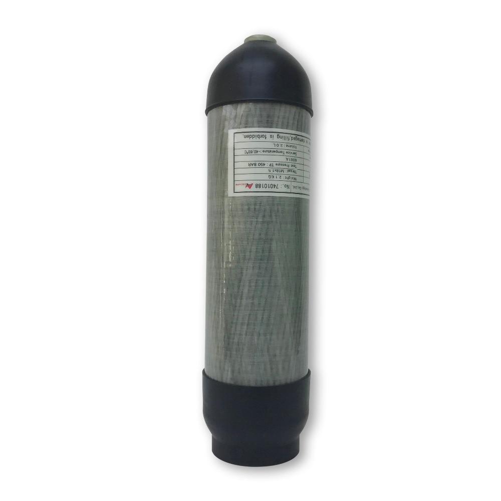 AC9680 3L Air Rifle Paintball Equipment Pcp Air Tank Cylinder 300Bar Air Bottle Protector For Shooting Target