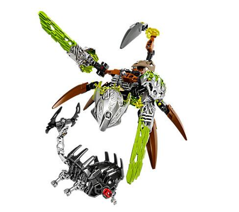 XSZ 609-2 Biochemical Warrior Bionicle Ketar Creature of Stone Bricks Toy Building Blocks Compatible With Legoings 71301 Toys