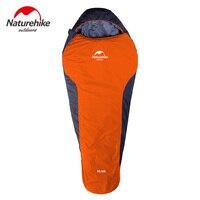 NatureHike Mummy Sleeping Bag Ultralight For Camping Hiking Backpack Winter Autumn Sleeping Bag 1100g