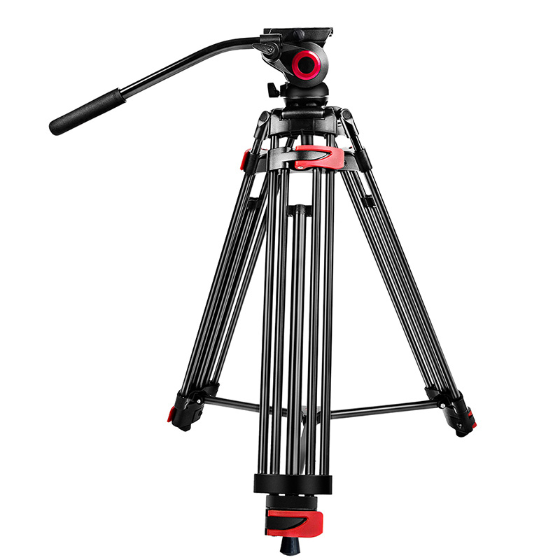 Aluminium alloy Professional camera tripod flexible dslr video monopod for photography with head Suitable for 65mm bowl size sirui a 1205 a1205 tripod professional carbon fiber flexible monopod for camera with y11 ball head 5 section free shipping