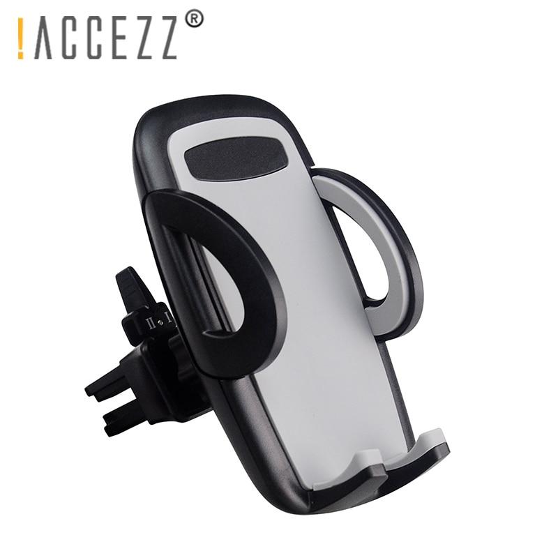 Não! Accezz suporte do telefone do carro suporte de ventilação ar montagem 360 graus rotação para o iphone x xr huawei lg samsung móvel suporte automático