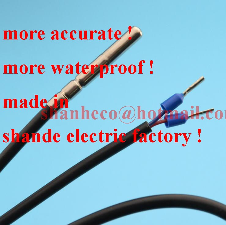 На самом деле 30A термостат регулятор температуры контроллер с датчиком 220-240 В переключатель температуры