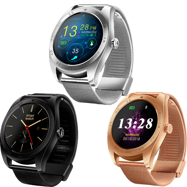 K89 Круглый Спорт Смарт Часы Сердечного ритма Smartwatch Наручные Часы  Фитнес-Трекер Умный Часы Bluetooth f30acb06b65