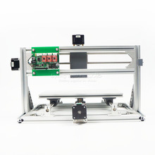 Free tax to Russia Disassembled pack mini CNC 3018 PRO + 5500mw laser Wood Carving machine cnc router with GRBL control L10012