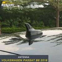 GELINSI Car Shark Fin Antenna Auto Radio Signal Aerials Roof Antennas For Volkswagen Passat B8 2018 Car Styling