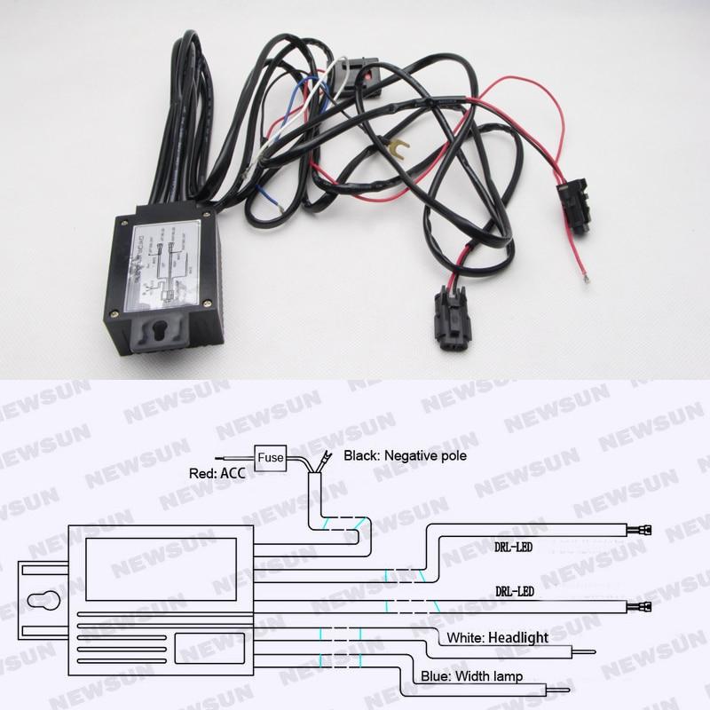 Aliexpress : Buy Universal 12V Car LED DRL Controller
