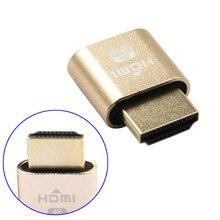 1Pc New VGA Virtual Display Adapter HDMI 1.4 DDC EDID Dummy Plug Headless Ghost Display Emulator EM88