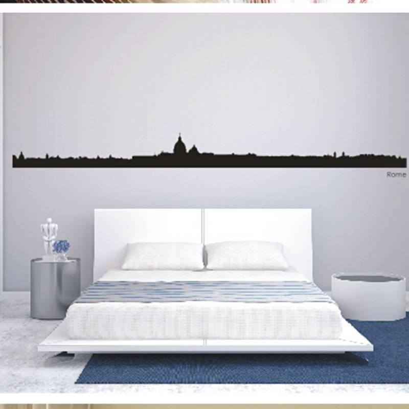 ᓂDctal París Ciudad del horizonte de la etiqueta Adhesivos de pared ...