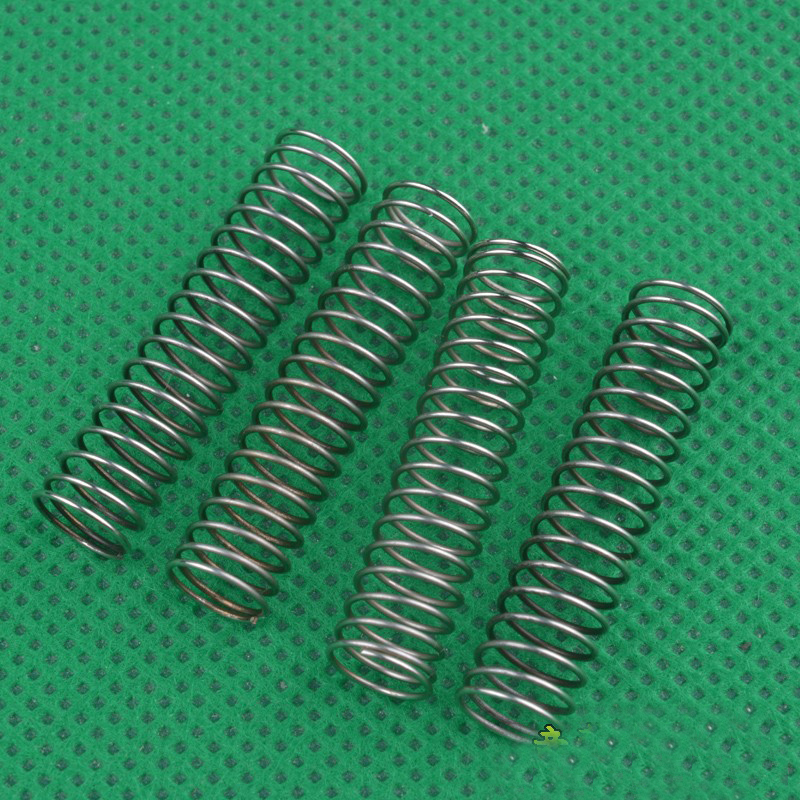4PCS <font><b>HBX</b></font> 1/24 Mini Climbing Car Shock Absorber Spring <font><b>2098B</b></font> Metal Suspension Springs for 1:24 RC Cars Spare <font><b>Parts</b></font> image