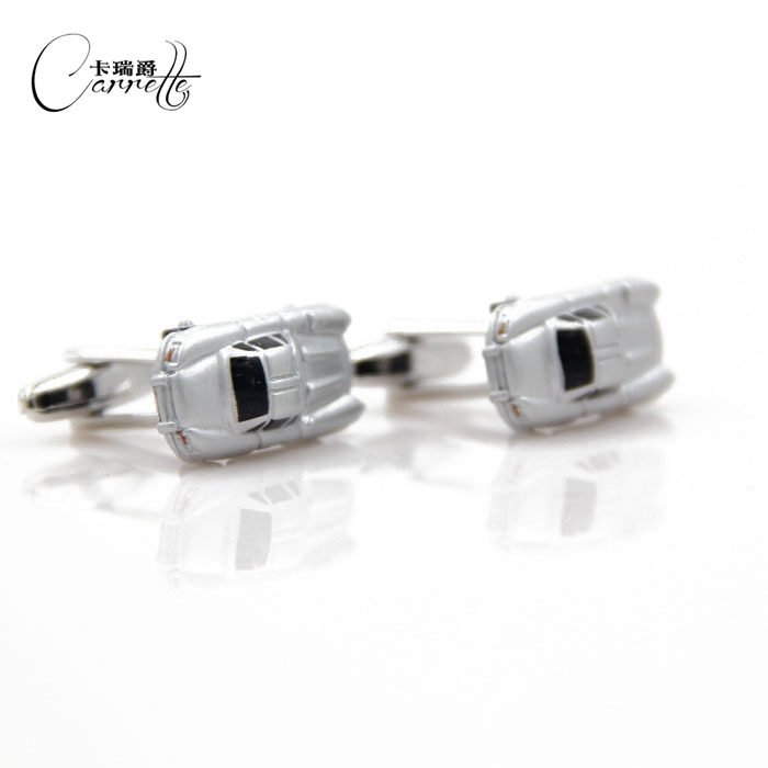 French quality personalized car styling upscale British mens cufflinks French shirt cuff nail cufflinks