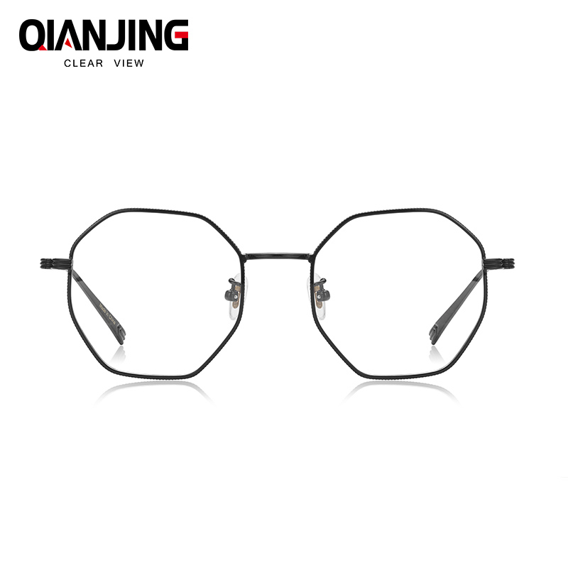 6855b1bd5c Detail Feedback Questions about QianJing Brands Retro glasses frame men  Japanese titanium Pure Hand made eyeglasses frames women spectacles myopia  eyewear ...
