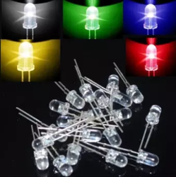 Мм 5 мм круглый супер светодио дный яркий светодиодный Ассорти светодио дный s Набор светодио дный diy светодиодный излучающий диод пакет