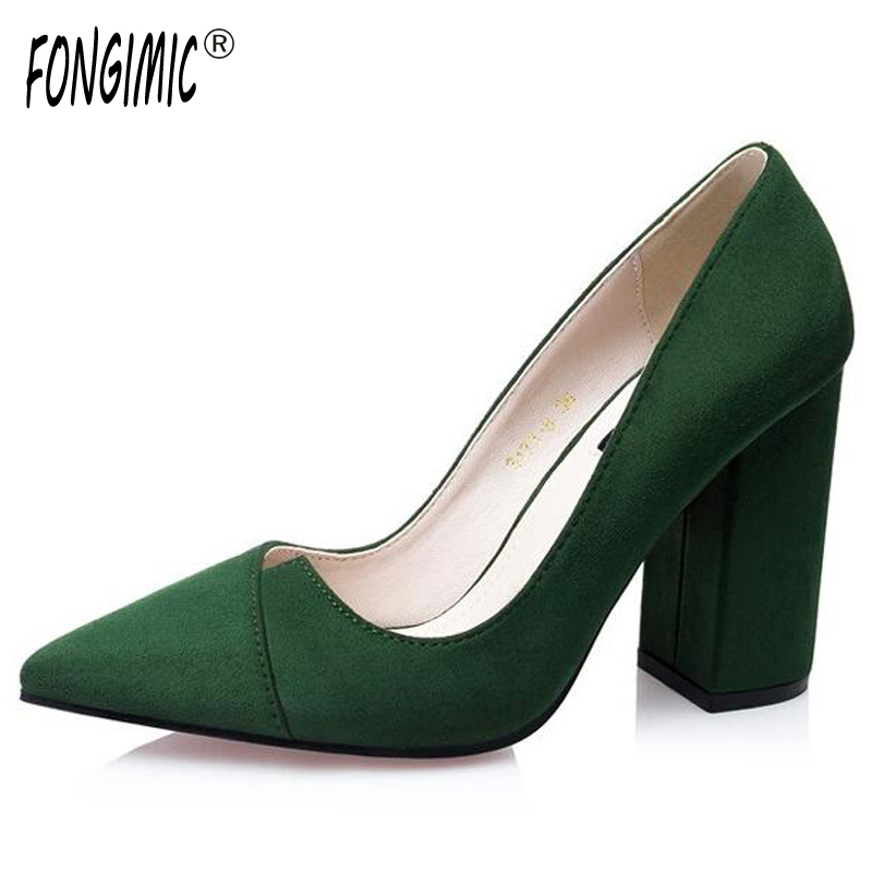 Sexy pointed toe thick heel women springn summer single shoes ladies simple fashion shallow mouth flock pumps wear comfortable lin king fashion pearl pointed toe women flats shoes new arrive flock casual ladies shoes comfortable shallow mouth single shoes