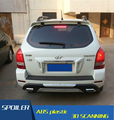 For Hyundai Tucson Spoiler  ABS Material Car Rear Wing Primer Color Rear Spoiler For Hyundai Tucson Spoiler 2005-2012