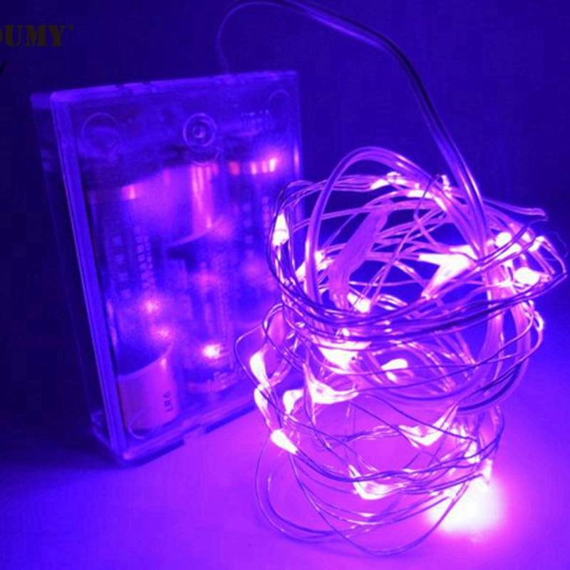 SZYOUMY 5M 50 LED String Fairy Light Batterie Opéré Xmas Party - Éclairage festif - Photo 5