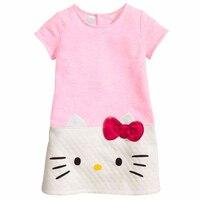 NEW Kids Girls Cartoon Dress For Summer My Little Pony Princess Dresses Clothing Children Baby Cotton