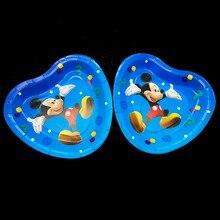10 шт./лот Микки Маус тема одноразовые бумажные тарелки Микки Маус тарелки для вечеринки Микки Маус тема в форме сердца тарелки