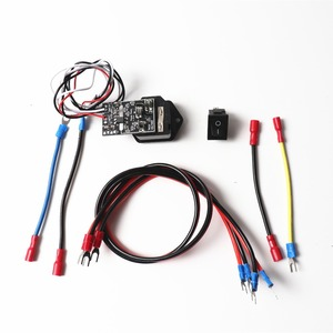 Prusa i3 MK3 Power Panic V 0,4 Высокое напряжение с 10А 250В выключатель предохранителя, с жгутом проводов, переключатель