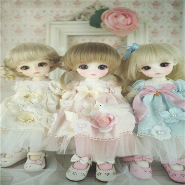 1/6 BJD Doll dress - Pullip BJD Jerryberry