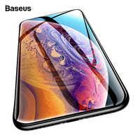Baseus 0,3mm Protector de pantalla para iPhone Xs Max Xr X S Xsmax 3D cubierta de vidrio templado película protectora de vidrio para iPhoneXs iPhoneX