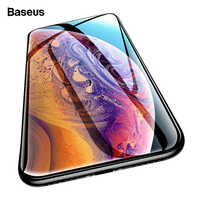 Baseus 0.3mm Screen Protector For iPhone Xs Max Xr X S Xsmax 3D Cover Tempered Glass Protective Glass Film For iPhoneXs iPhoneX