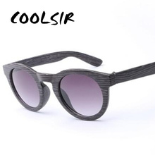 COOLSIR 2019 New fashion Products Men Women Glass Bamboo Sunglasses au Retro Vintage Wood Lens Wooden Frame Handmade